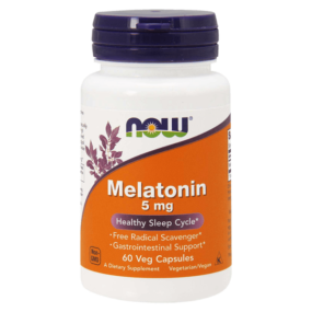 Melatonina Now Foods Vegano 5mg - 60 cápsulas